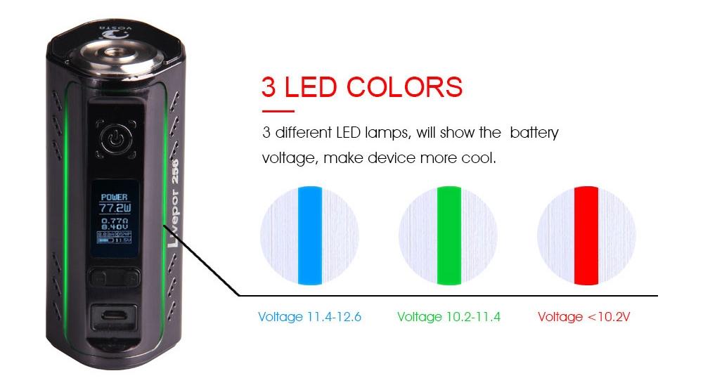 Yosta Livepor 256 Mod 3 LED Colors