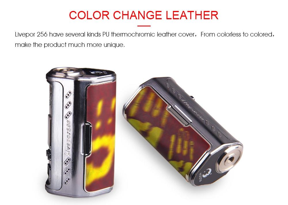 Yosta Livepor 256 Mod Color Change Leather