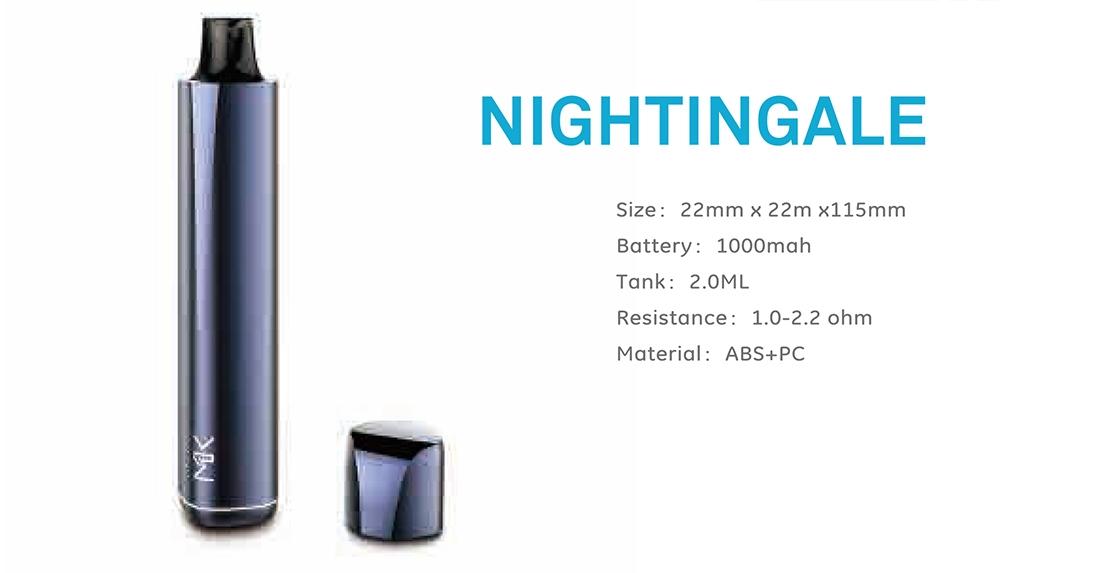 Maskking Nightingale Kit Parameters