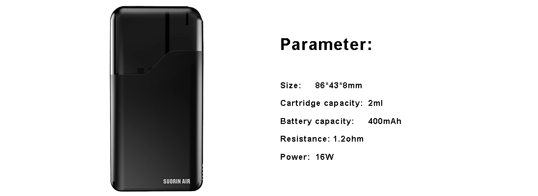 Suorin Air Kit Parameter