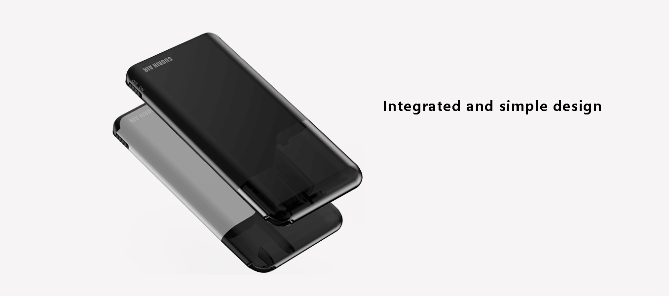 features integrated and simple design